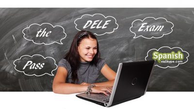 girl with laptop studying for Dele