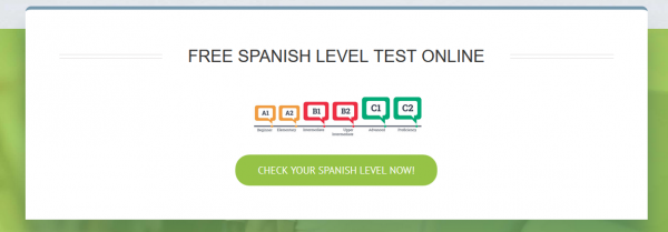 Spanishviaskype's new site test level