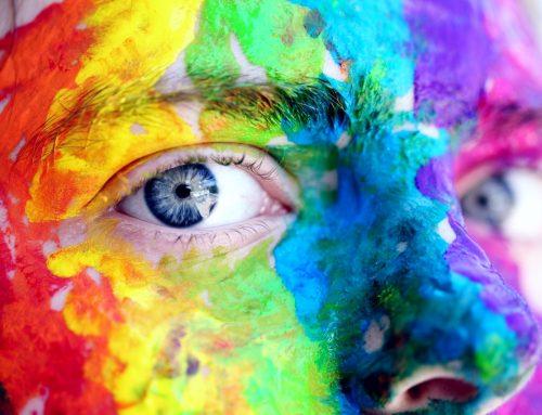 Expresiones con colores en español: Orgullo 2020