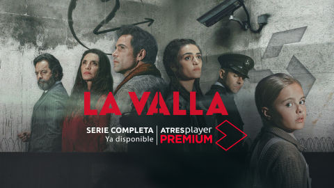 Promotional banner of the series La Valla