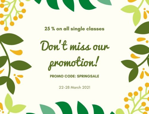 The Spring Promotion 2021: 25% Discount