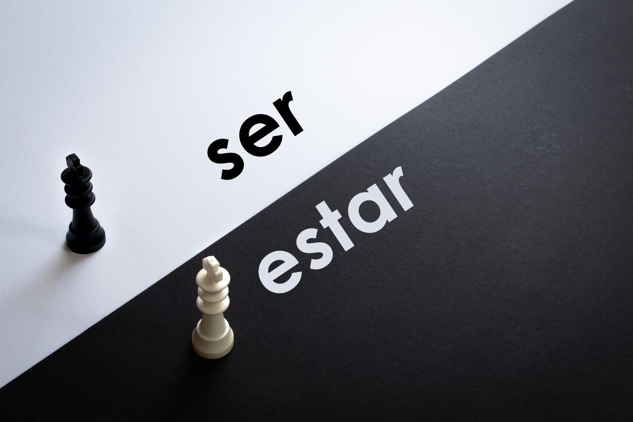 Los verbos estar y ser en español para cambiar el significado