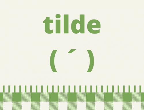 La tilde diacrítica en español: iguales pero diferentes