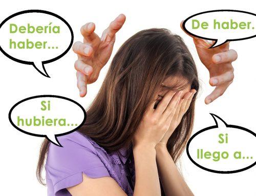 Expresar arrepentimientos en español