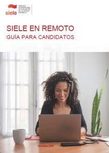 SIELE Remoto - Guía del candidato